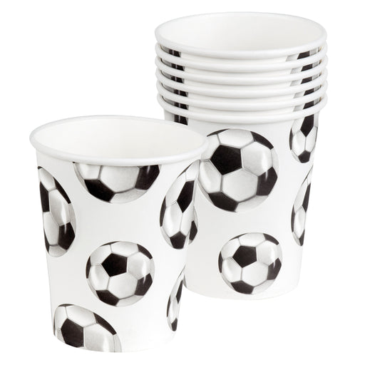 Boland Football Paper Cups World Cup Party Celebration Tableware 6 Pack