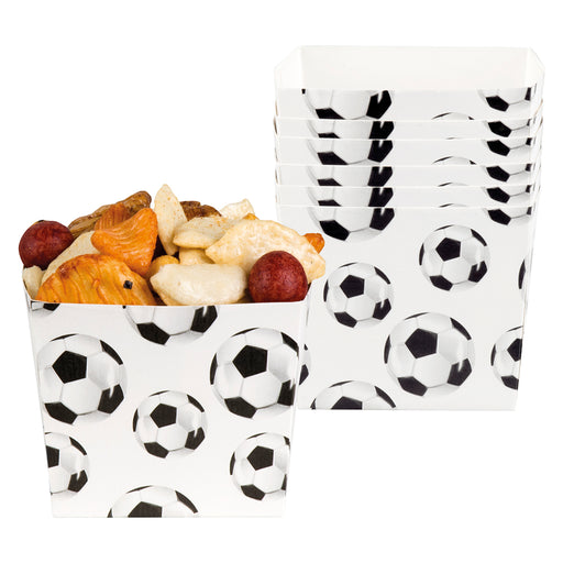 Boland Football Paper Party Food Bowls World Cup Celebration Tableware 6 Pack