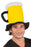 Boland Yellow & Black Oktoberfest Novelty Tankard Beer Hat