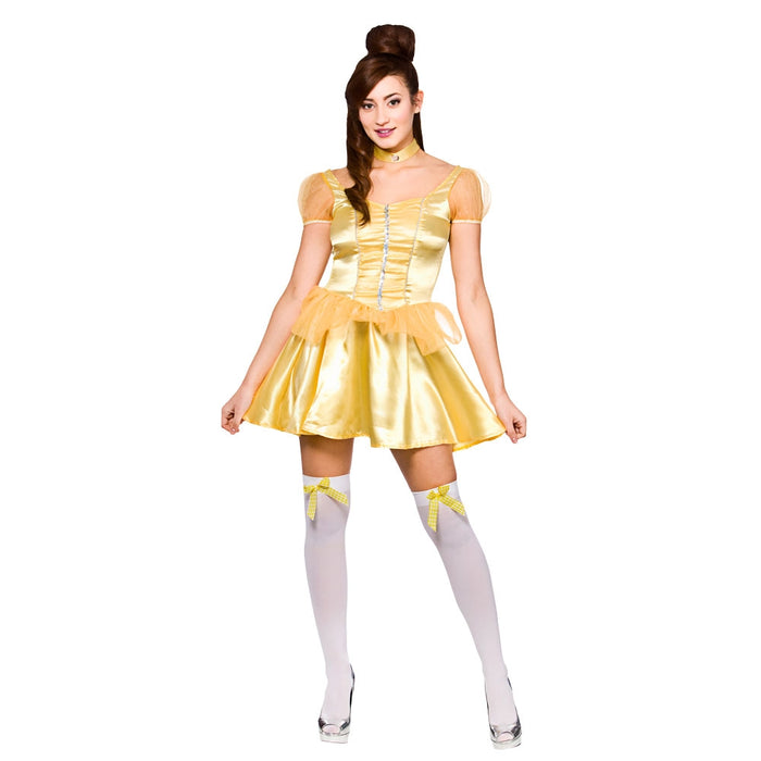 Wicked Women's Fancy Dress Beautiful Princess Short Dress Costume -Extra Small