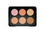 W7 Big Blush 6 Colour Blusher & Bronzer Palette