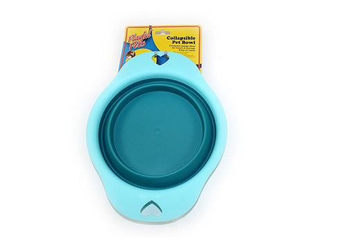 Playful Pets Collapsible Dog, Cat Feeding Water Bowl Ideal For Travelling