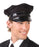 Boland Black Driver Chauffeur Hat/ Cap Fancy Dress Accessory