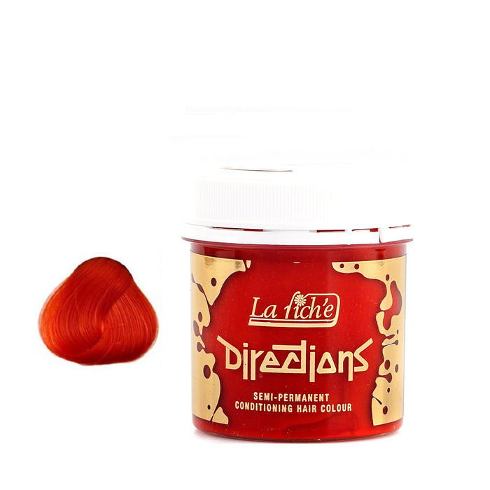 La Riche Directions Semi-Permanent Hair Dye Coral Red Tub Vegan Cruelty Free