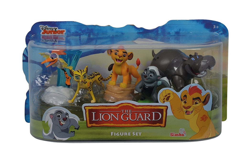 Disney Junior The Lion Guard Figure Set 5 Piece Childrens Collectable Toy Gift