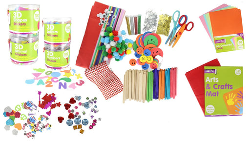 Mega 2620 Piece Ultimate Children�s Arts & Crafts Accessories Activity Set