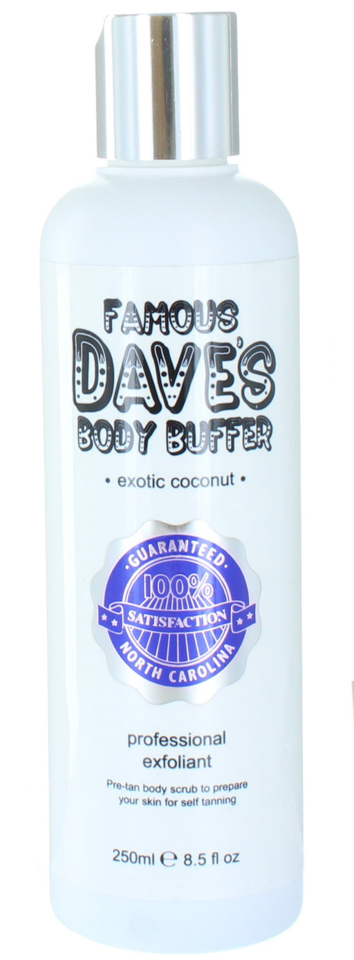 Famous Dave's Professional Exfoliant Exotic Coconut Body Buffer 250ml
