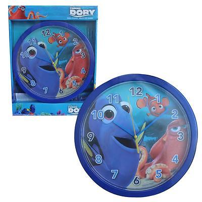 Finding Dory Wall Clock Featuring Dory, Nemo & Hank Age 3+