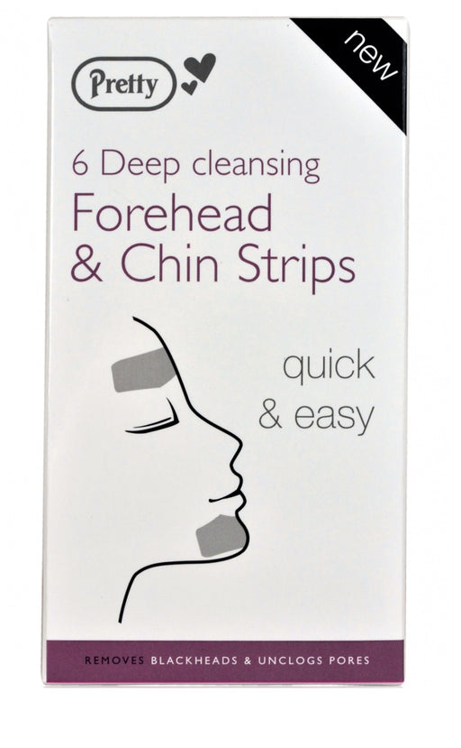 Pretty Deep Cleansing Forehead & Chin Strips Pack Of 6