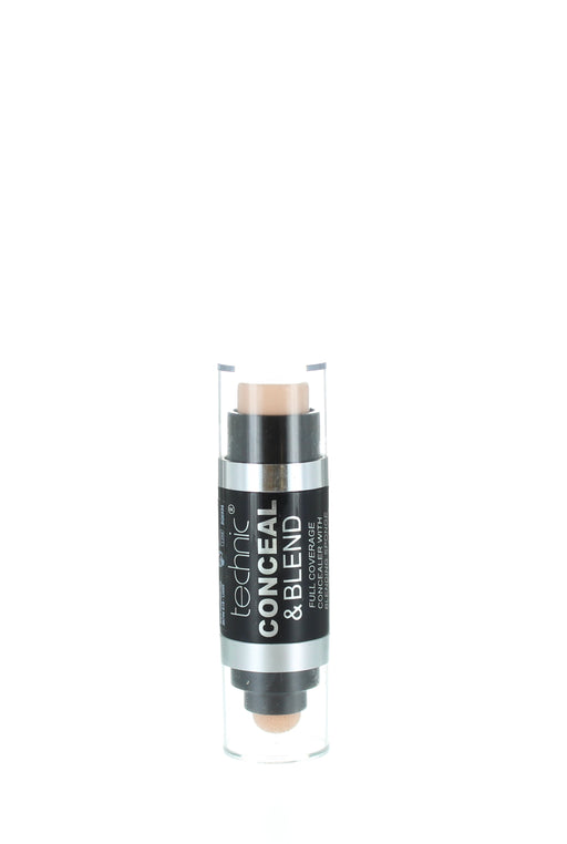Technic Conceal and Blend Full Coverage Concealer with Blending Sponge