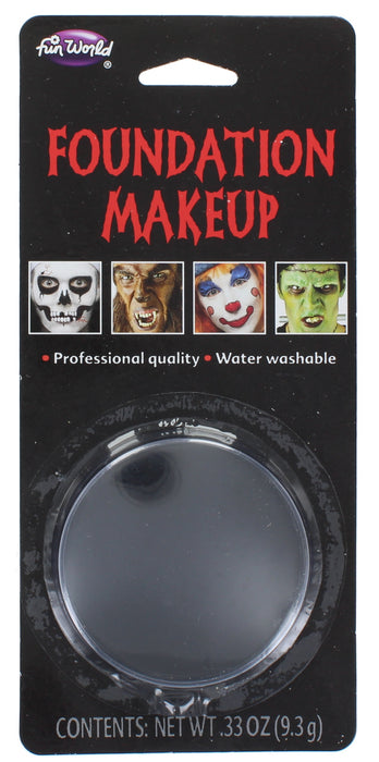 Halloween Face Paint  Foundation Make Up Compact  Makeup 9.3g-Black