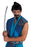 Black Samurai Stick On Moustache & Goatee Fancy Dress Accessory