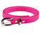 Ladies Bright Coloured 80's Neon Skinny Belt Fancy Dress Accessory-Neon Pink