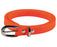 Ladies Bright Coloured 80's Neon Skinny Belt Fancy Dress Accessory-Neon Orange