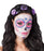 Adults Halloween Black & Purple Rose Spider Headband Fancy Dress Accessory