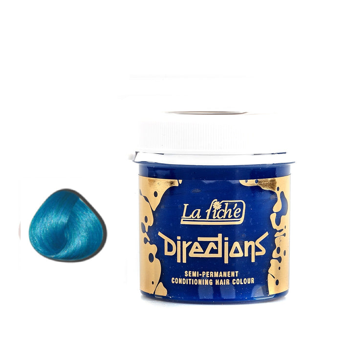 La Riche Directions Semi-Permanent Hair Colour Dye Lagoon Blue