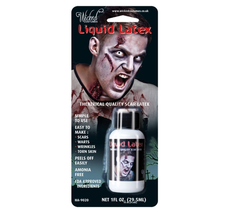 Halloween Liquid Latex Theatrical Quality Scar Latex 29.5ml
