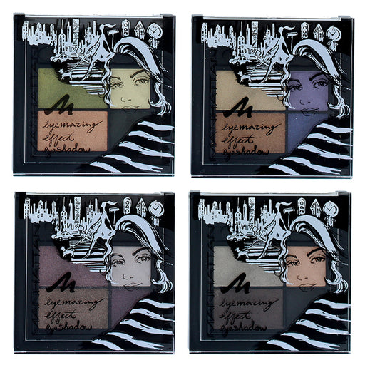 Manhattan Eyemazing Effect Quad Eyeshadow Palette