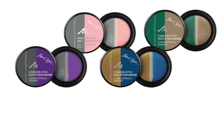 Manhattan Endless Stay Long Lasting & Creamy Duo Eyeshadow