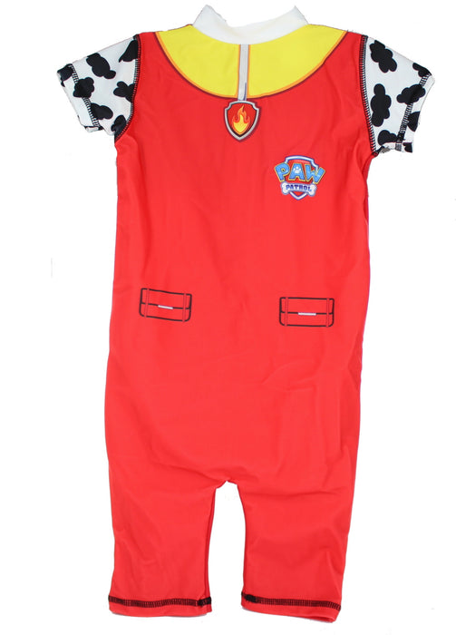 Paw Patrol Marshall Boys 50+ UV Protection Swimming Suit Costume -4-5 Years