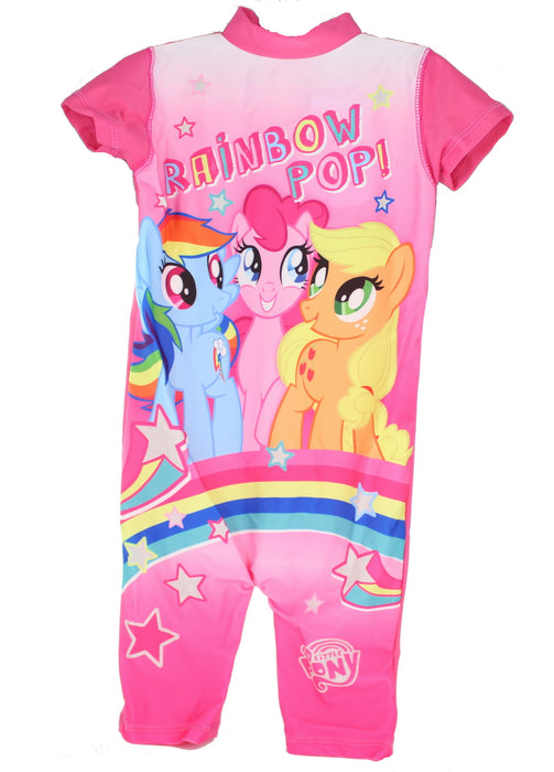 My Little Pony Rainbow Pop 50+ UV Protection Swimsuit Swimming Costume-18-24 Months