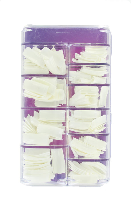 N Salon 200 White Nail Tips & False Nail Cutters