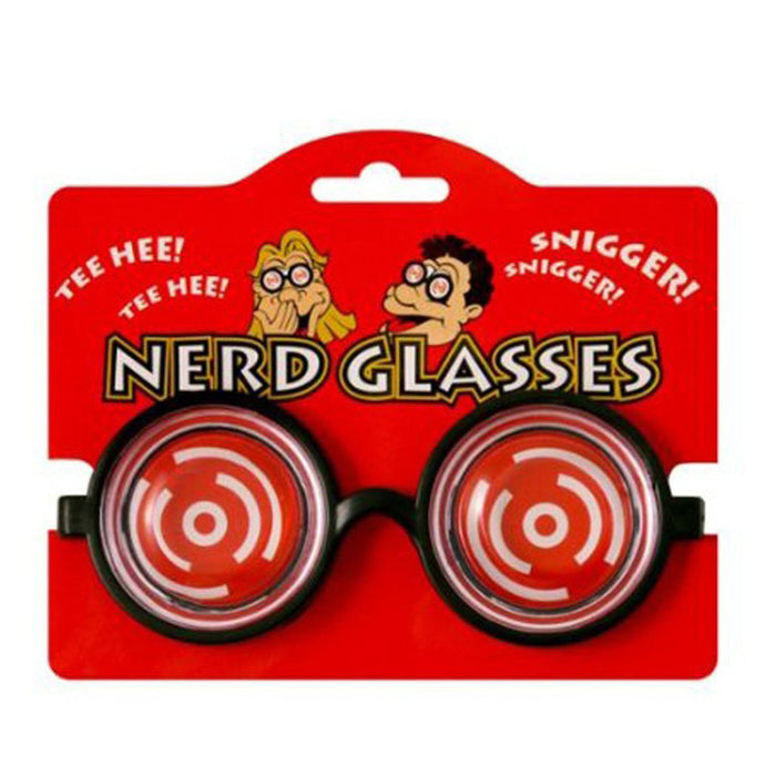 Goofy Nerd Specs - Complete Your Fancy Dress With These Geek Glasses In Black!