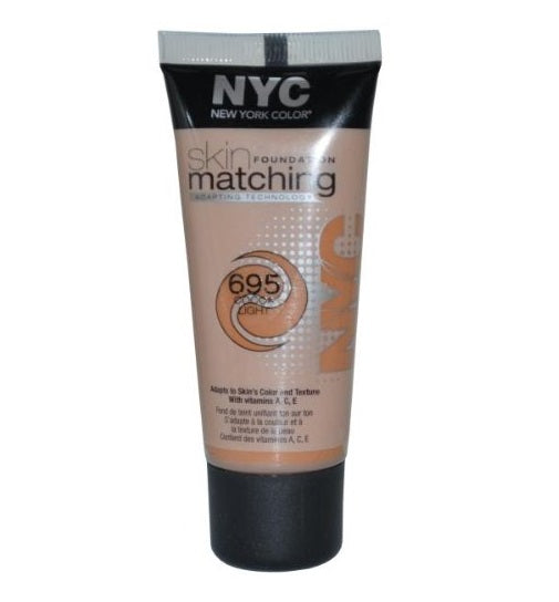 NYC Skin Matching Foundation, Cocoa Light 695 30ml