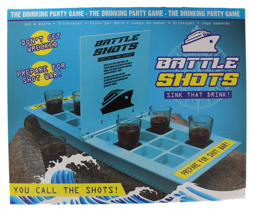 Battle Shots Adult Drinking Party Game Stag Night Shot Game
