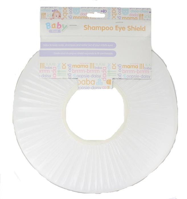 Baby First Child Toddler Bath Time Shampoo Eye Shield