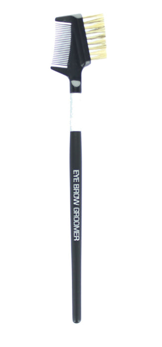 Royal Cosmetic Brushes Eye Brow Groomer Make Up Applicators Natural Bristle