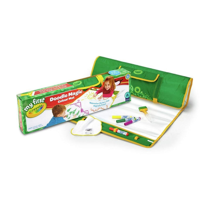 Crayola Doodle Magic Colour Mat With Mat, Markers, Eraser & Wipe Cloth