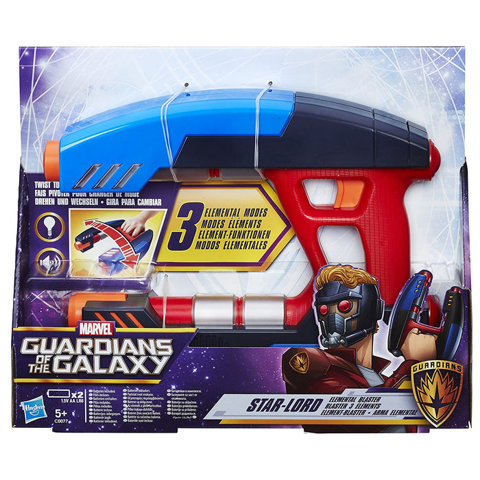 Guardians of the Galaxy Marvel Star Lord Elemental Blaster Kids Toy Gift Present