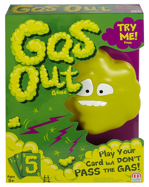 Gas Out Card Game