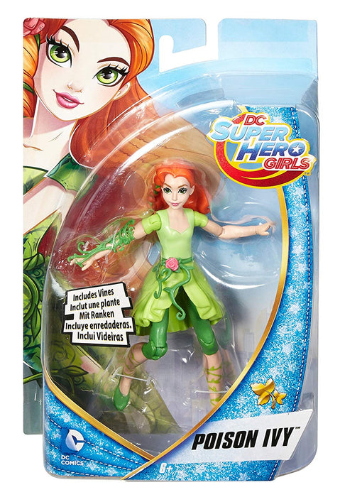 DC Comics Super Hero Girls Poison Ivy Action Figure Doll Childrens Toy 6�