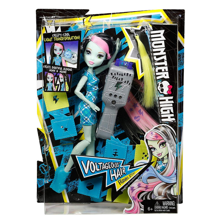 Monster High Voltageous Hair Frankie Stein Daughter of Frankenstein Doll Toy