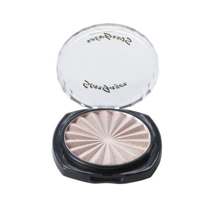 Stargazer Pearl Mono Pressed Powder Eyeshadow Make Up Cosmetic Compact -Peach Flush