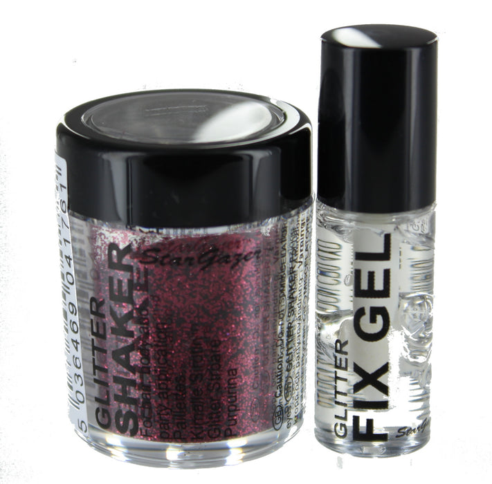 Shiny Loose Glitter Shaker  Eyeshadow Lips Face Hair Body Fix Gel Glue Stargazer-Current