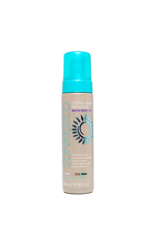 Sunkissed Instant Self-Tanning Mousse 200ml-Ultra Dark