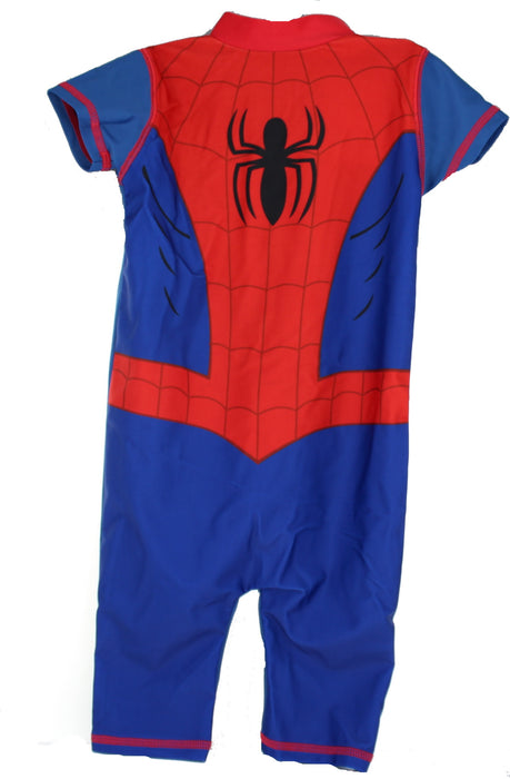 Spiderman 50+ UV Protection Children's Boys Swimming Suit-18-24 Months