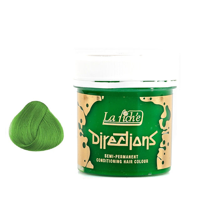 La Riche Directions Semi-Permanent Hair Colour Dye Spring Green Tubs Vegan Cruelty Free