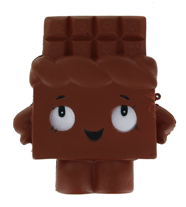 Childrens Slow Rising Squishies Stress Toy Scented Foam Collectable Toy-Chocolate Bar
