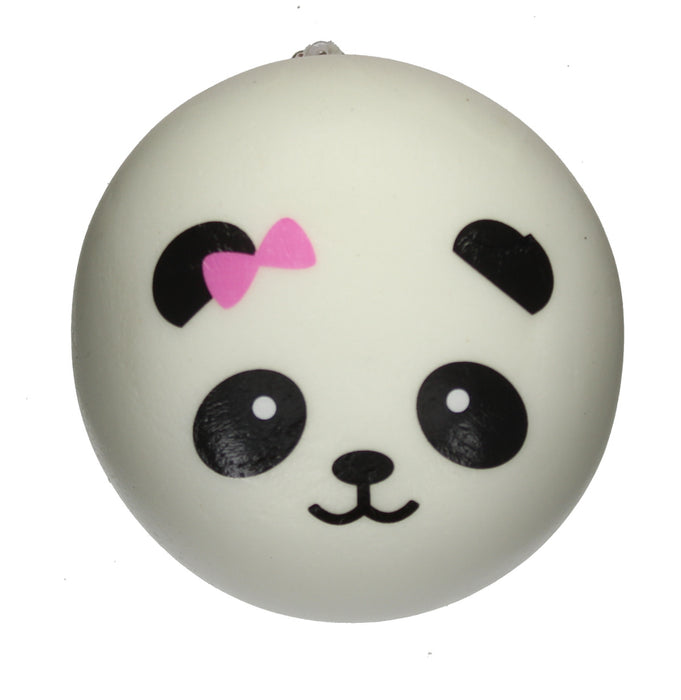 Childrens Slow Rising Squishies Stress Toy Scented Foam Collectable-Large Panda Face