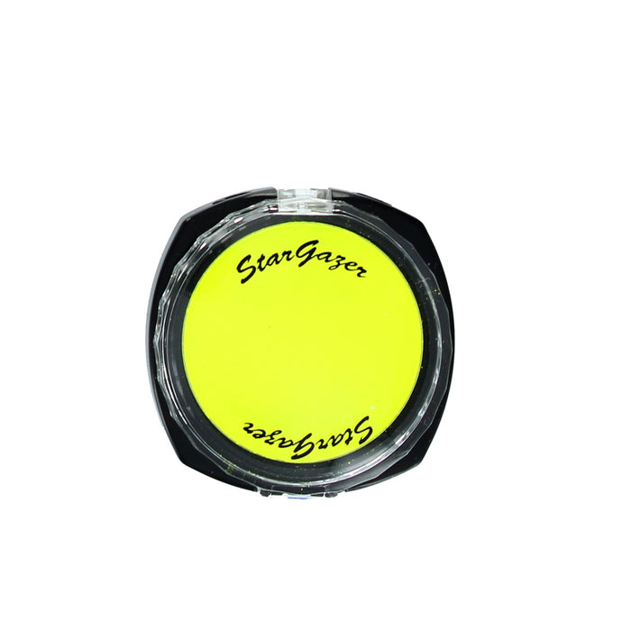 Stargazer Florescent UV Pressed Powder Eye Shadow-Lemon Yellow