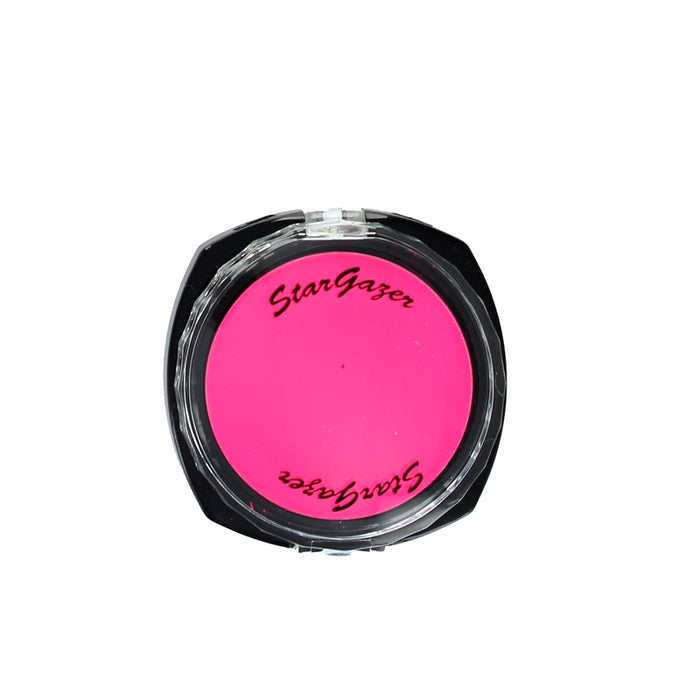 Stargazer Florescent UV Pressed Powder Eye Shadow-Rose Pink