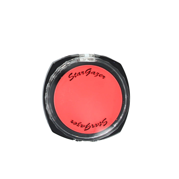 Stargazer Fluorescent Neon UV Reactive Pressed Powder Eyeshadow Make Up-Rouge
