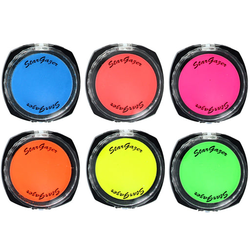 Stargazer Florescent UV Pressed Powder Eye Shadow