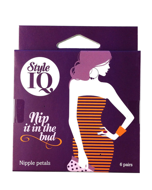 Style IQ Nip In The Bud 6 Pairs Of Nipple Petals