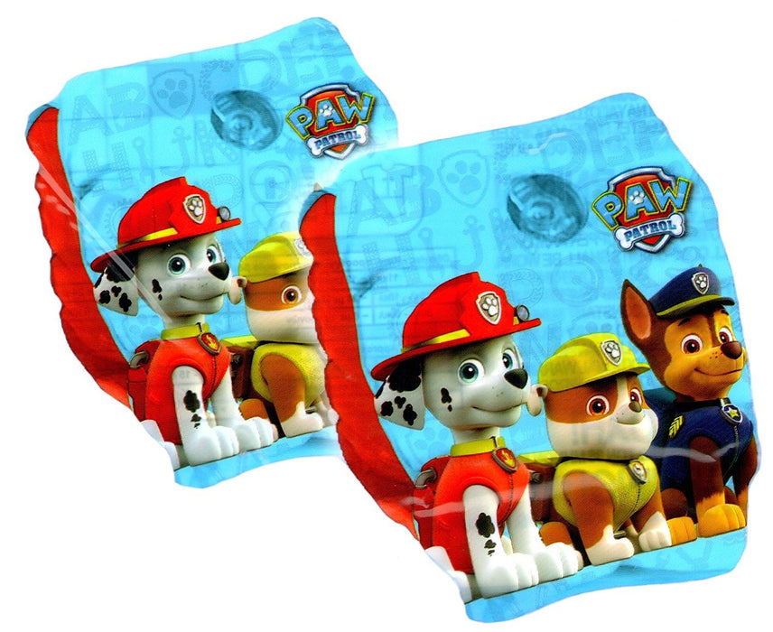 Paw Patrol Chase Marshall & Rubble Inflatable Swim Ring & Swimming Armbands 3+