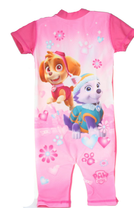 Paw Patrol Skye & Everest Girls 50+ UV Protection Swimsuit Swimming Costume-18-24 Months